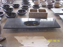 Nutural G654の台所のための暗い灰色の花こう岩の流しか浴室またはホテル