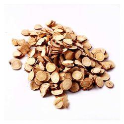 우량한 사나운 감초 조각은 자유로운 순수한 자연적인 황이고 귤 껍질과 복사뼈 거품 물로 마셔질 수 있다