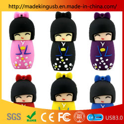 Japanse Doll / Kimono Girl Usb Flash Drive / Usb-Sleutel