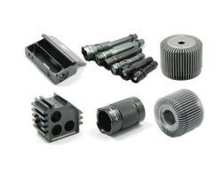 OEM de fábrica barata de inyección de plástico negro producto de electrónica