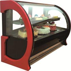 De Showcase van de Vertoning van de Cake van het Venster van het glas voor Bakkerij hh-F12