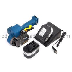 Plastiek die op batterijen de Elektrische Machines van Packing&Packaging van de Baksteen voor PP/Pet/Poly/Polyester (Z323) vastbinden