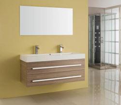 Le Style européen Vanitory Mélamine MDF bois Antique armoire meuble vasque Salle de bains