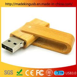Retângulo de madeira Flash Memory Stick USB 3.0 A unidade Flash USB de madeira Pen Drive