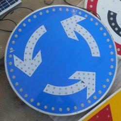 태양 LED 도로 안전 빛 교통 표지