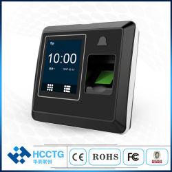 2.8 L'écran tactile TFT 125kHz ID de carte de contrôle d'accès d'empreintes digitales de fréquentation de temps machine (HS-220TD)