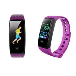 Mini-Ecrã táctil a cores de vigilância inteligente de telefone com coração Rete Monitor de Pressão Arterial Modo Multi-Sports impermeável IP67 Pulseiras Bluetooth