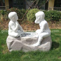Custom Карвинг мраморные статуи камня рисунок скульптура для сада украшения