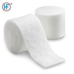 Medical gypse synthétique doublure en coton doux rouleaux Pop Undercast rembourrage doux orthopédique rapidement rembourrage en fonte à sec pour plâtre bandage