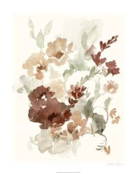 زهرة خاصّ بالأزهار فنّ [أيل بينتينغ] لأنّ يعيش غرفة جدار زخرفة