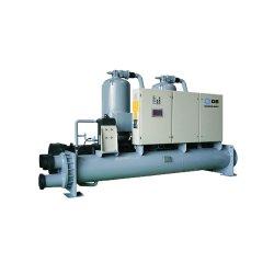 Bomba de calor industrial Dunham-Bush Fábrica Wcfx-E resfriado a água Chiller Condição exterior refrigeradores de líquidos de parafuso Chiller de Agua