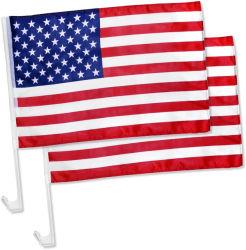 Bandiera americana Donald Trump 2020 bandierine per la finestra di automobile