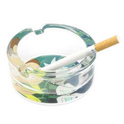 De creatieve het Roken van de Gift van de Bevordering Uitstekende kwaliteit van Toebehoren, het Asbakje van het Glas