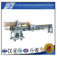 Machines de bambou bambou ronde Barbecue Stick Making Machine/ Le bambou le fractionnement de la machine du matériel de traitement du bambou bambou pôle de la chaîne de séparateur