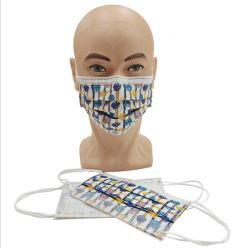 Un usage civil jetable Masque de protection avec logo personnalisé de l'impression
