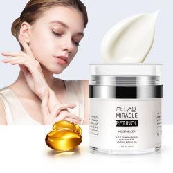 OEM Private Label beste natuurlijke anti-veroudering en antikreuken Retinol Moisturizer Cream voor gezicht en nek 50 ml.