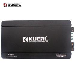Der Guangzhou-Kuerl Kanal-Auto-Endverstärker Fabrik-Konkurrenz-Leistungs-Stereoverstärker-Kategorien-D 1