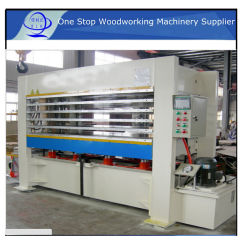 Hydraulische Hot Press Plywood Veneer Machinery Pductie Line/ Hout Hot Press Machinery For Doors Film Faced Plywood Machine Full Set Film Faced Plywood Making