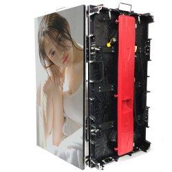 P4.81 gegoten aluminium 500*1000/500*500mm kast/paneel/module/ zacht LED-scherm / verhuur LED-display, flexibel