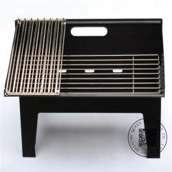 Im Freien beweglicher Grill-Gitter-Hinterhof-haltbares Holzkohle BBQ-Gitter, das Ofen kocht