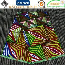 Van het Katoenen van 100% Stof de Afrikaanse Imitatie Super Af:drukken van de Was