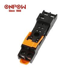 Onpow 12A universelle Relais-Unterseiten-Kontaktbuchse mit 2 Sets (SH1RS-05T)