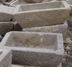 Old Trapezoid Canaleta de pedra mármore (SH860)