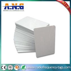 Cr80 ID Taille de carte de crédit Carte de plastique vierge blanche