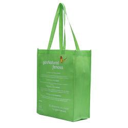 친환경 식료품 가방 광고 판촉 쇼핑 비 우븐 가방 이중 핸들 비 우븐 문서 백