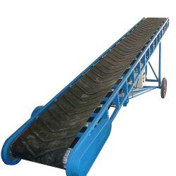 سهولة الصيانة ناقل الحزام المطاطي المستخدم في التعدين / الفحم الحقول