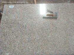 中国のNatural Stone PolishedかWall Floor Tiles Outdoor Paving CoveringのためのFlamed Half Slabs PinkローザG636 Granite