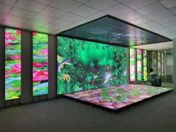 P3.9 Indoor Outdoor escenarios móviles pantalla de video, pantalla LED de pared