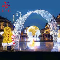야외 아코스 스트리트 크리스마스 LED 장식 모티프 라이트