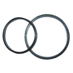 Gummi und Metallgeklebte Ring-/-Edelstahl-/-metallgeklebte Unterlegscheibe-Messingo-Ringe