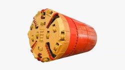 Ondergrondse Rock Micro Tunneling machine met draaikranslager voor sewer