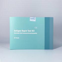 Bfarm écouvillon de diagnostic médical Antigen Test rapide pour 25 personnes