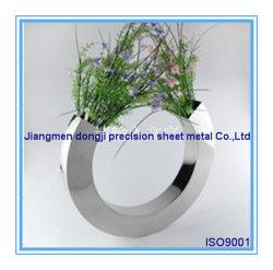 Alta qualidade de aço inoxidável vaso de Flores, a banda decorativa vaso de flores