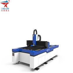 穏やかな鋼鉄500W 1000W 2000W CNCのファイバーレーザーの切断システム