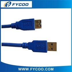 Super Velocidade USB 3.0 Am Fa cabo Cabo de extensão USB 3.0