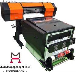 의복 열전달 이용된 Cmykw 안료 잉크를 위한 건조기를 가진 전 세트 필름 인쇄 기계
