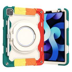 回転スタンドとペンシルホルダキッズおもちゃシリコン製タブレットケース Samsung Galaxy Tab A7 Lite 8.7 インチ 2021 SM-T225/T220/T227 の場合
