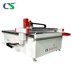 Gewebe CNC-Shirt-Schwamm-Schaumgummi-oszillierender Messer-Tisch-Hersteller-Scherblock