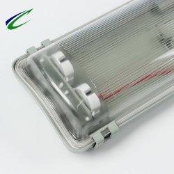 van de LEIDENE van het Neonlicht van 1.5m Licht van de Muur het Dubbele Inrichtingen van de Buis Lamp Vaste Aanstekende Openlucht