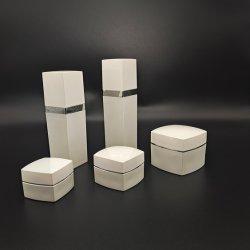 [10غ] [30غ] [50غ] [30مل] [60مل] [80مل] [100مل] بيضاء أكريليكيّ بلاستيكيّة زجاجة مستحضر تجميل تعليب مرطبان