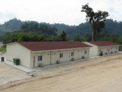 Les maisons préfabriquées Solution pour l'Afrique de la famille à faible revenu