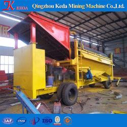 Or Movable Mini laver l'usine ou à petite échelle Gold Mining Equipment/petite machine à laver de l'or