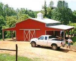 هيكل الصلب منزل مدير تخزين المزرعة