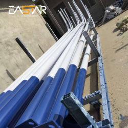 Straßenlaterne-Preis-Beleuchtung Pole der röhrenförmiges konisches achteckiges Stahl-Polyester-Solarstraßen-LED