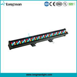 Outdoor Wash LED-wandlamp met 60X3w Rgbaw-epistar LED