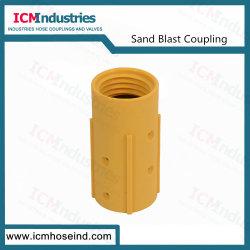 Supporto di nylon di plastica dell'ugello del tubo flessibile del Sandblast con la guarnizione